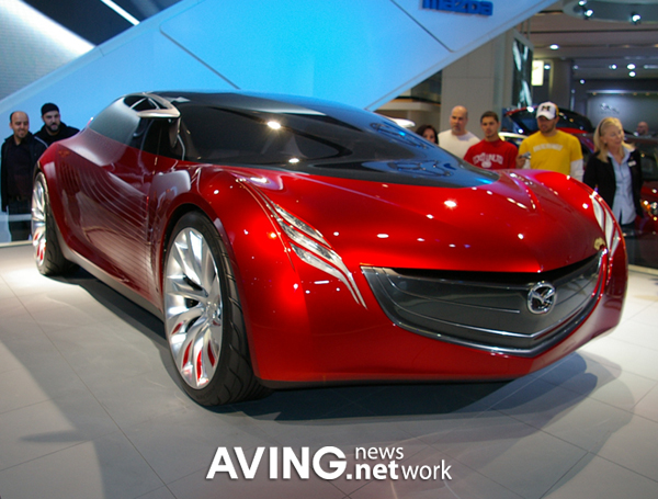 ConCeptCar] Mazda to unveil its second concept car \'Ryuga\' AVING USA