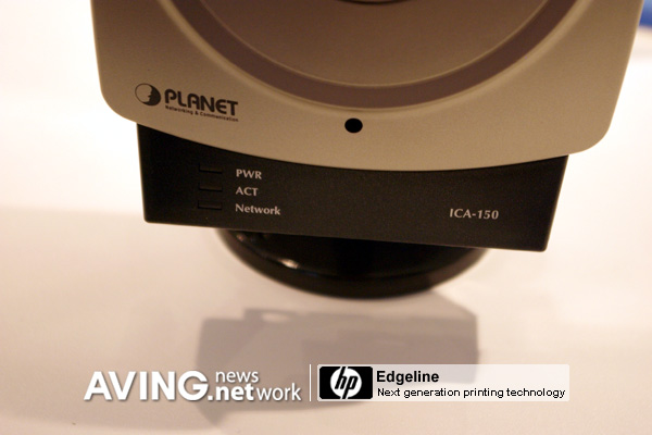 Planet to present wireless IP camera 'ICA-150' AVING USA